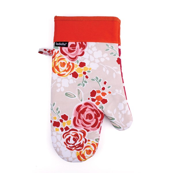 Unique Oven Mitt in Floral Design