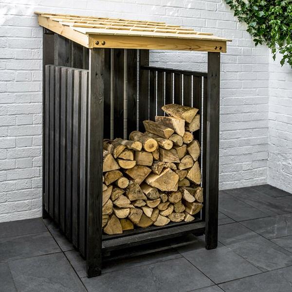 Garden Trading Chelwood Spruce Log Storage