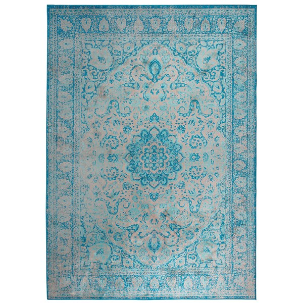 Chi Persian Style Rug in Blue