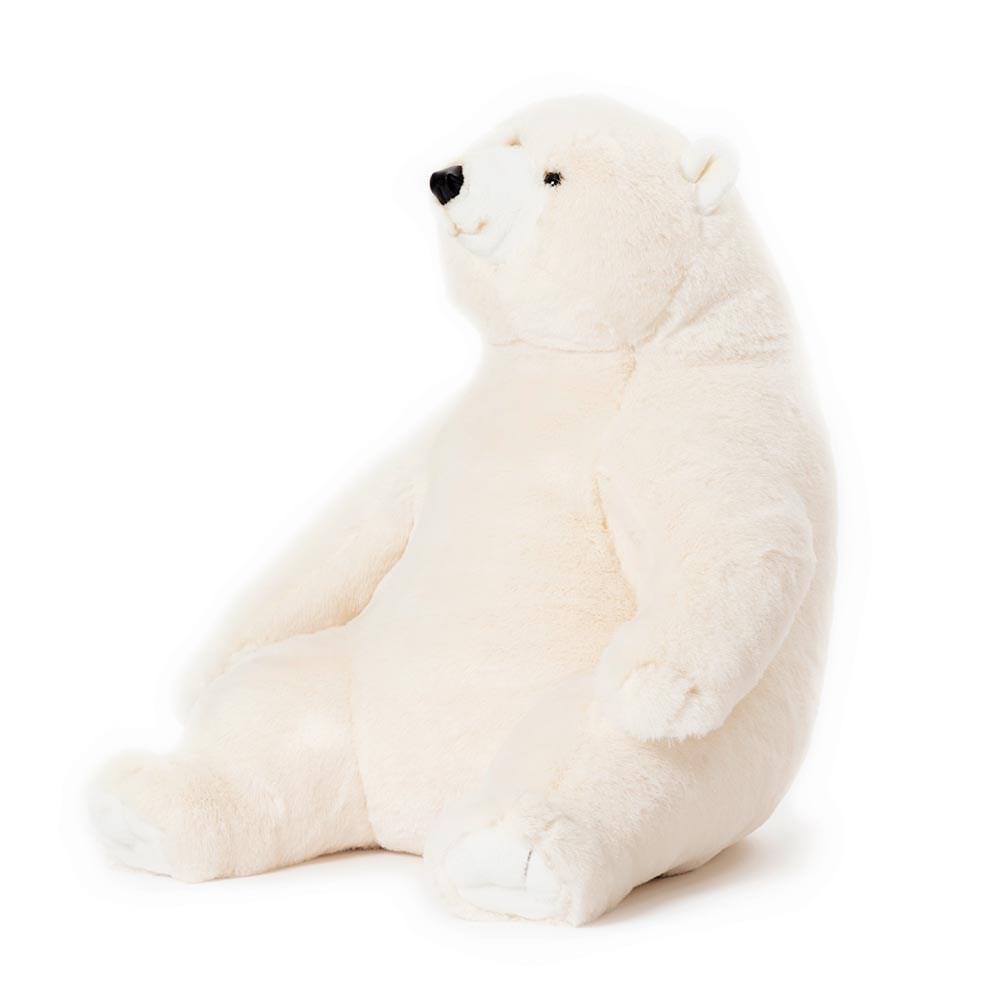 Victor The Polar Bear Kids Giant Soft Toy Wild Soft Cuckooland