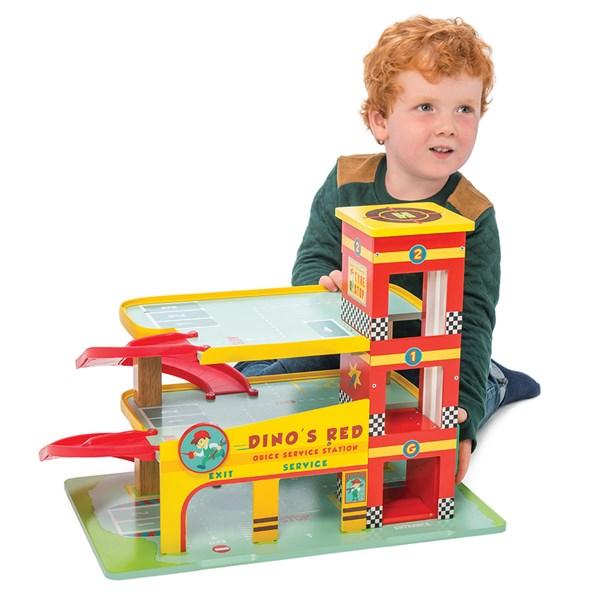 Le Toy Van Dino's Garage Set