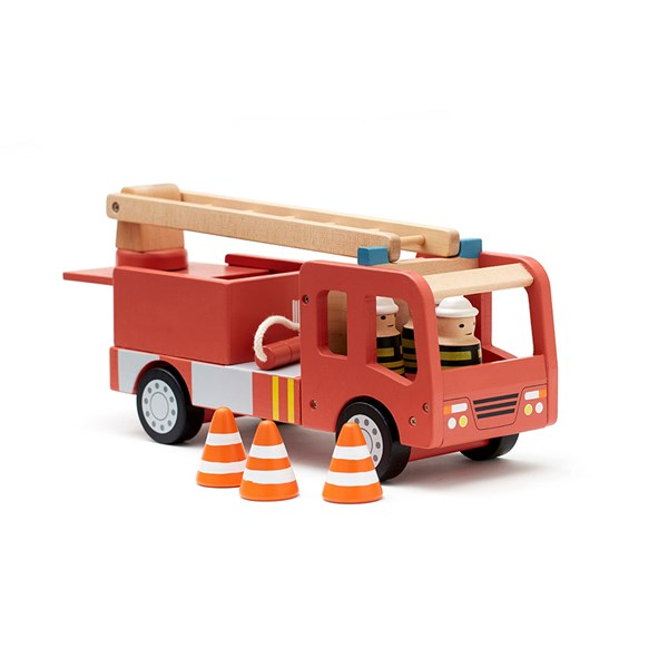 Wooden Fire Engine with Ladder