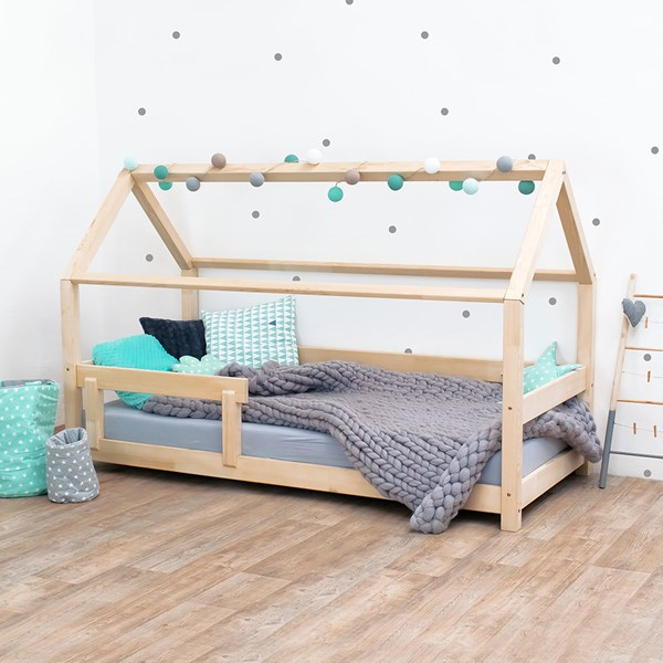 Benlemi Tery House Bed with Guard Rail