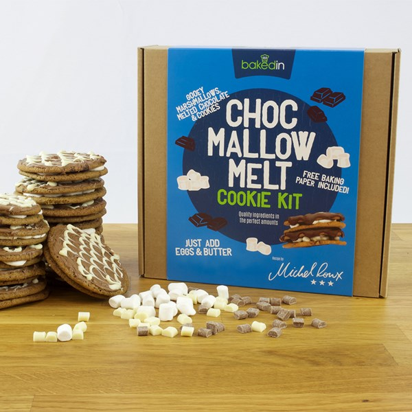 BakedIn Chocolate Mallow Melt Cookie Baking Kit