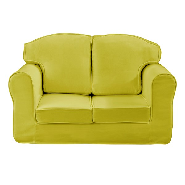 Small Green Sofa for Kids