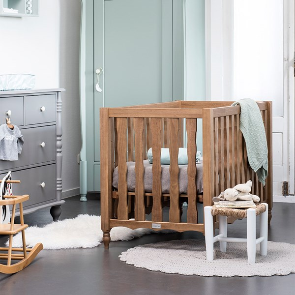 Wood Baby Bed from Coming Kids