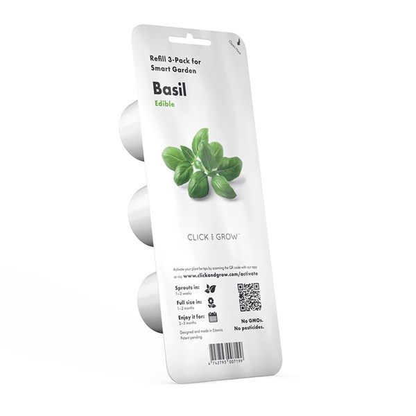 Click and Grow Smart Garden Basil Plant Pods 3 Pack