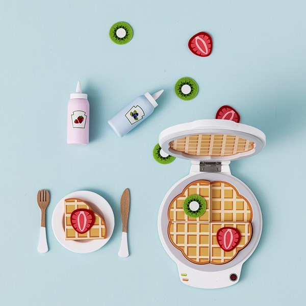Children's Wooden Waffle Play Set