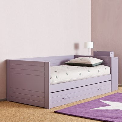 - Kids Liso Day Bed With Trundle Drawer - Asoral Cuckooland