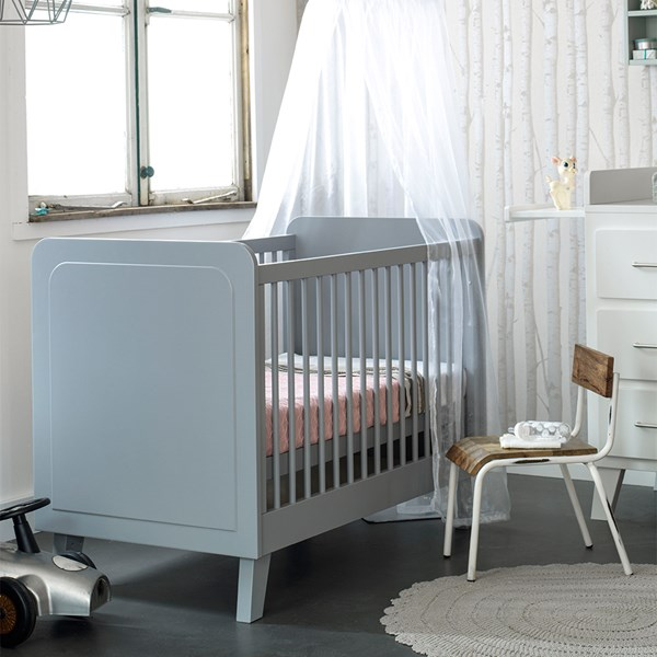 Mint Green Luxury Baby Bed