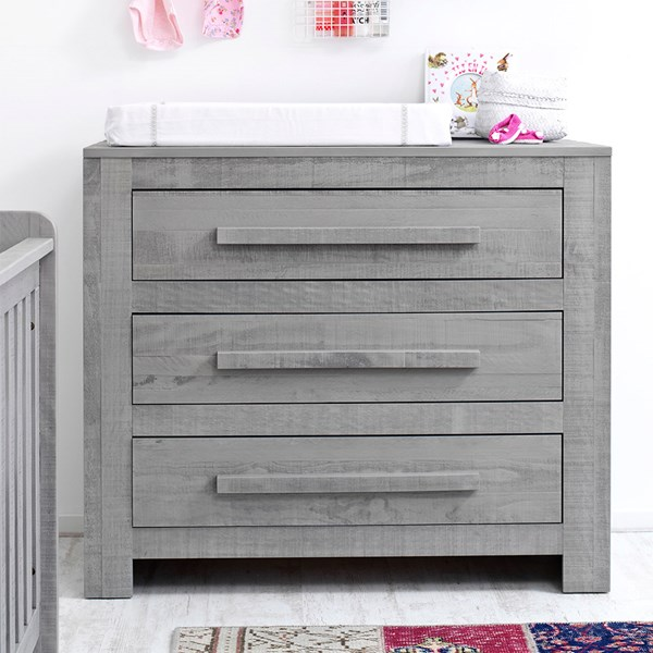Contemporary Kids Drawers in Grey