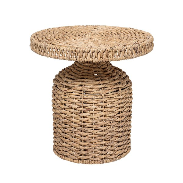 Bloomingville Water Hyacinth Camo Side Table