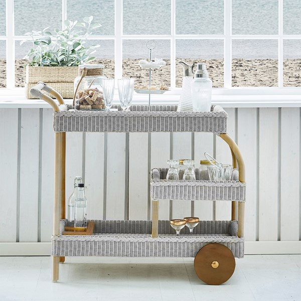 Sika Design James Woven Drinks Trolley