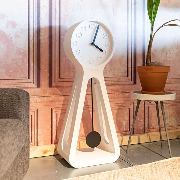 Zuiver Humongous Grandfather Clock in White
