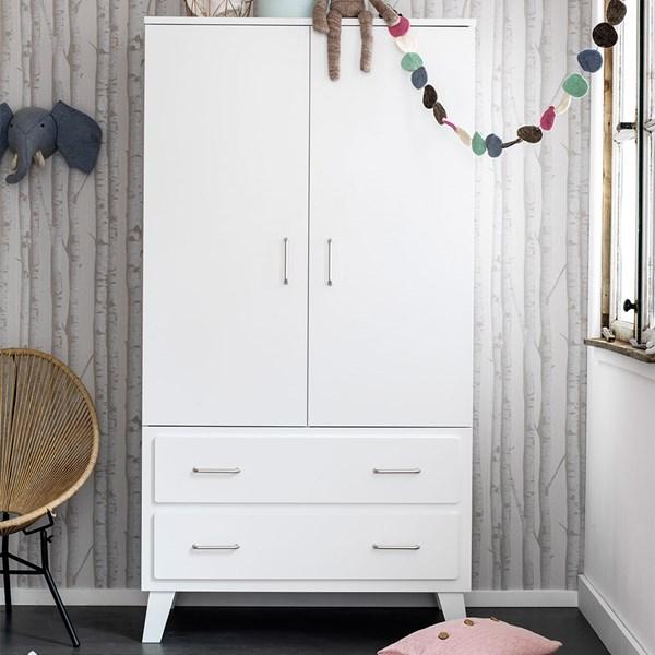 Modern Luxury 2 Door Wardrobe