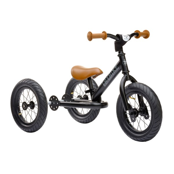 Trybike 2 in 1 Balance Trike in Black