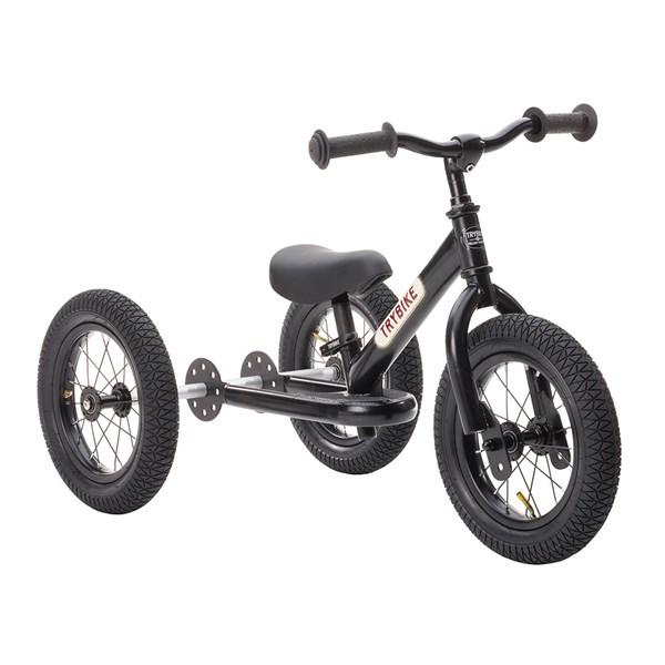 Trybike 2 in 1 Balance Trike in All Black