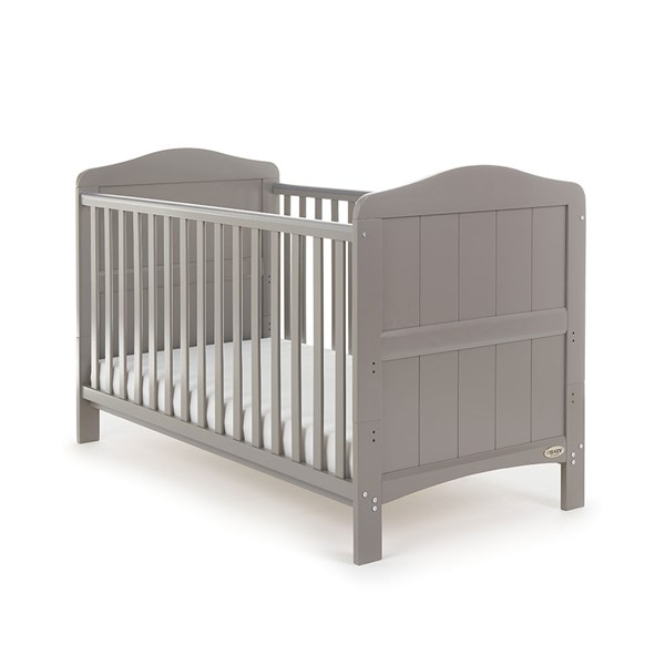 Obaby Whitby Cot Bed in Taupe Grey