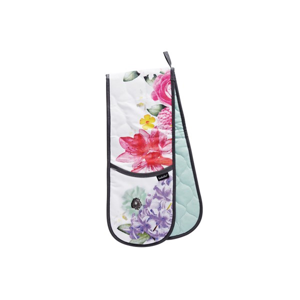 Cora Double Oven Mitt in Floral