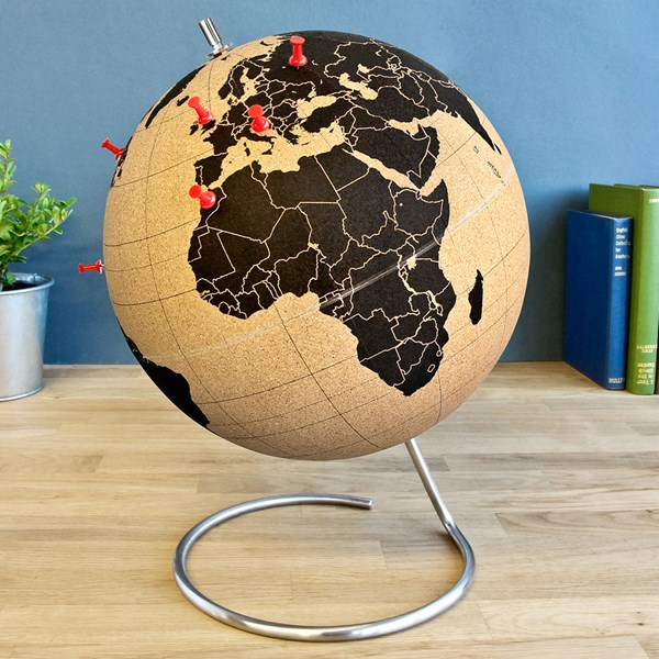 Fantastic Quirky Gift Idea Cork Globe