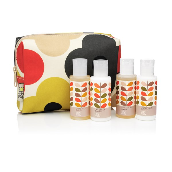 Mini Body Wash Gift Set with shower gel, body lotion, hand wash, hand lotion