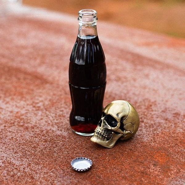 Luckies Gold Skull Bottle Opener