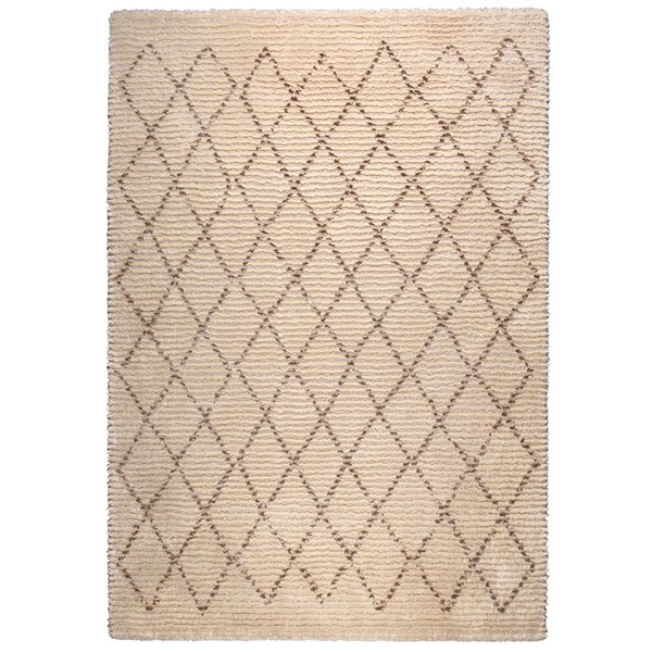 Dutchbone Jafar Rug with Diamond Pattern