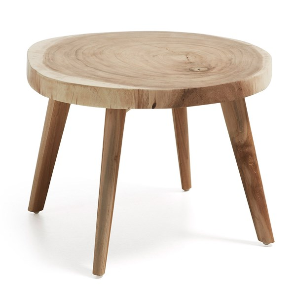 Creswell Solid Wood Side Table by La Forma