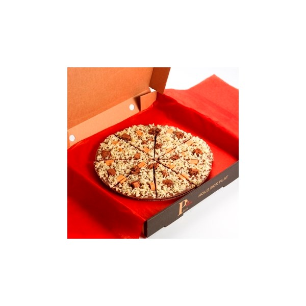 Crunchy Munchy Chocolate Pizza Gift Idea