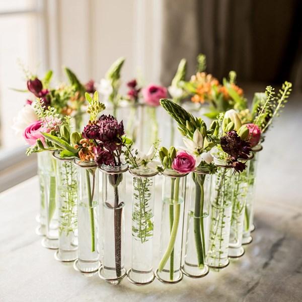 Stylish Round Flower Vase