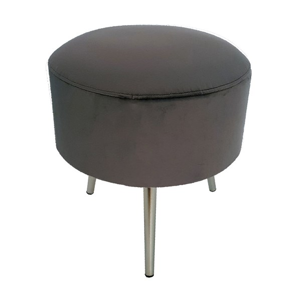 Culinary Concepts Velvet Drummer Stool