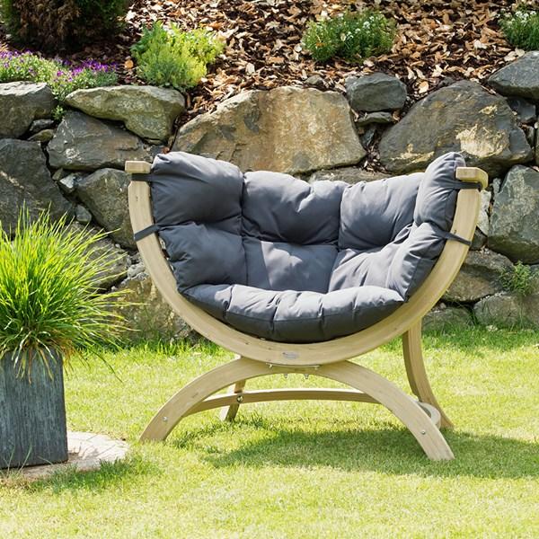 Siena Uno Garden Chair in Weatherproof Anthracite