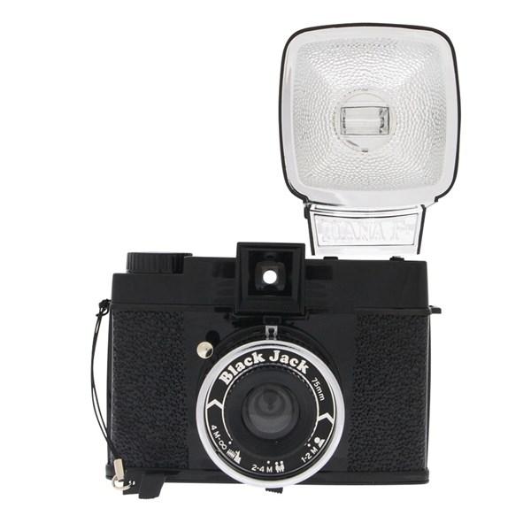 Lomography Diana F+ Black Jack Camera