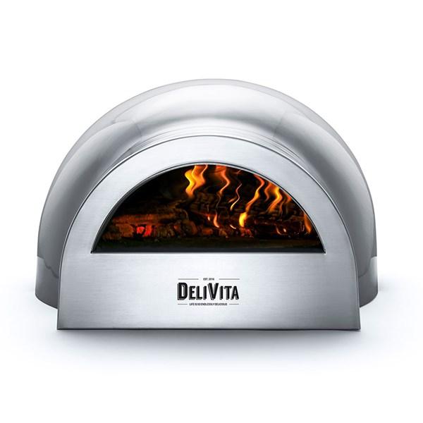 DeliVita Outdoor Pizza Oven in Hale Grey