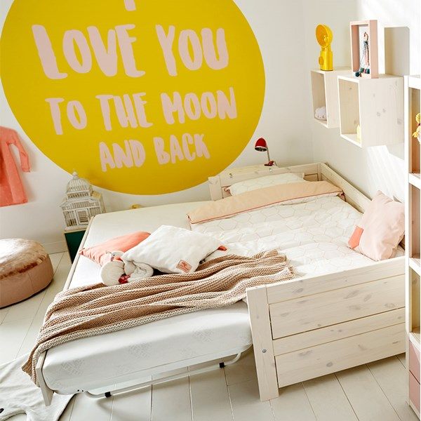 Luxury Kids Bed with Pop Up Spare Bed