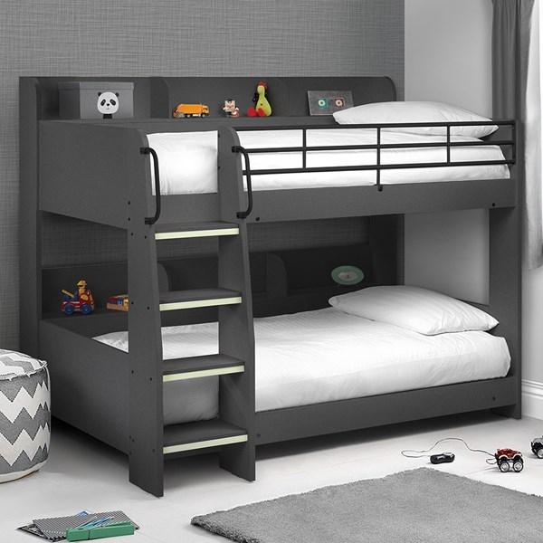 Julian Bowen Domino Kids Bunk Bed with Shelf