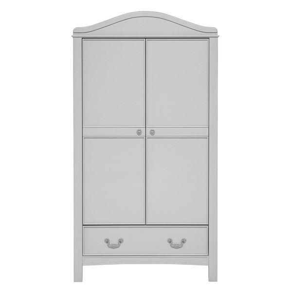 East Coast Toulouse Double Wardrobe in French Grey
