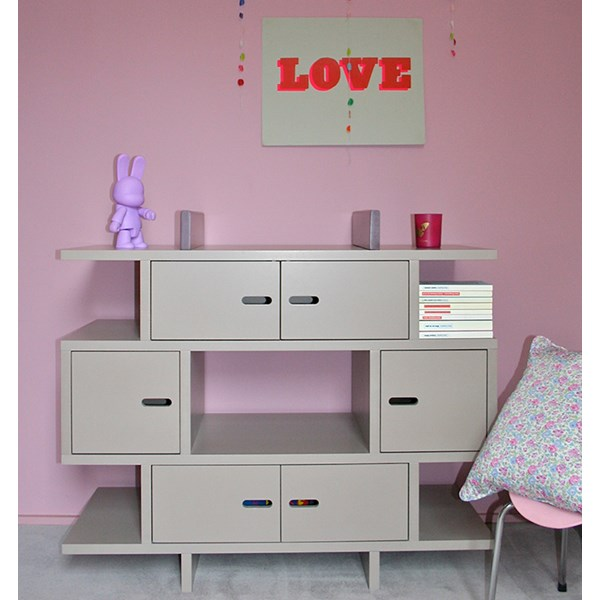 Madaket Kids Dresser and Unique Book Storage