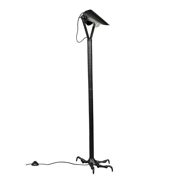 Dutchbone Falcon Floor Lamp in Black