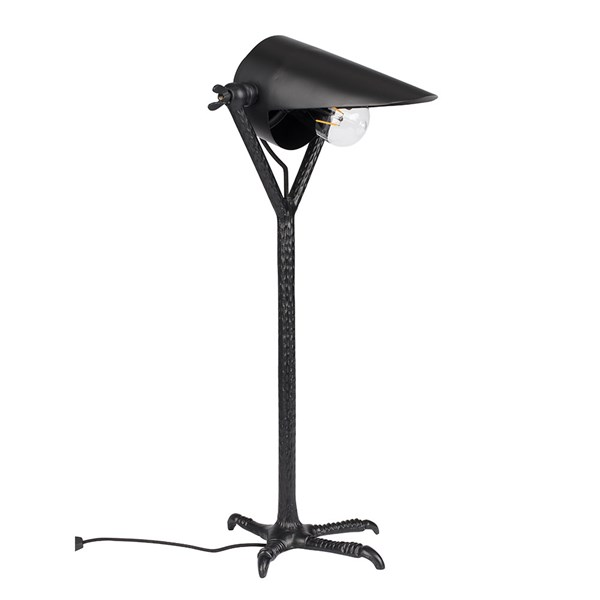 Dutchbone Falcon Table Lamp in Black