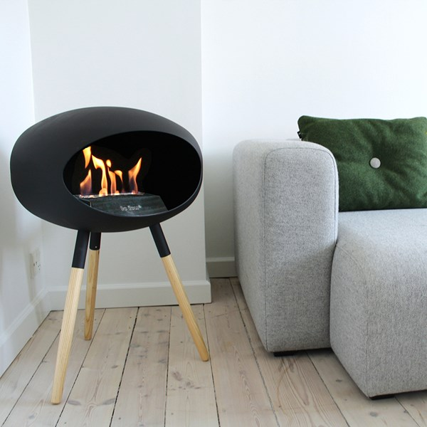 Le Feu Ground Low Bio Ethanol Fireplace