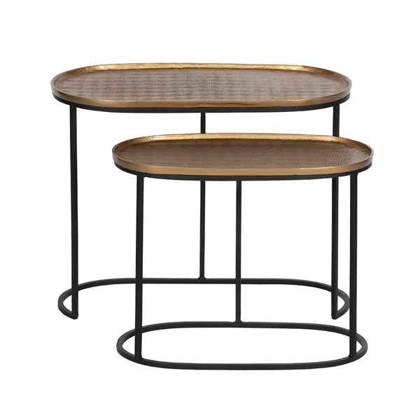 Embrace Set of 2 Side Tables by BePureHome