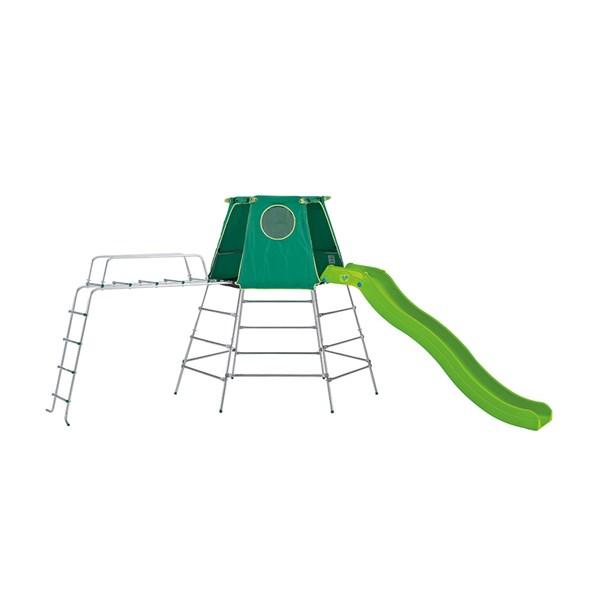 Child's Garden Climbing Frame with Wavy Slide