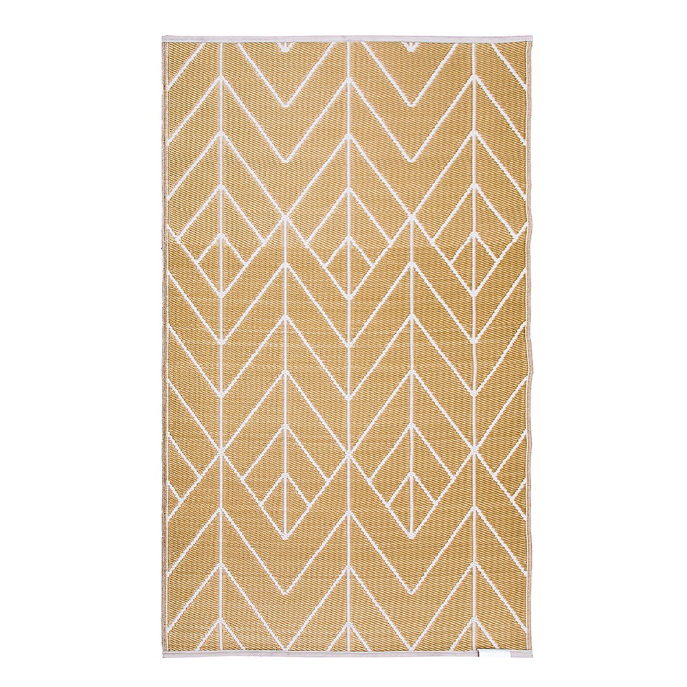 Fab Hab Sydney Outdoor Rug In Gold