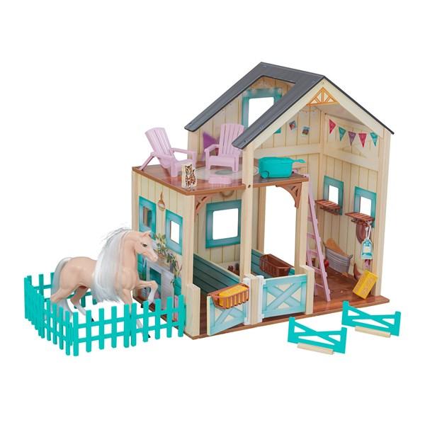 Kidkraft Sweet Meadow Horse Stable Dollhouse
