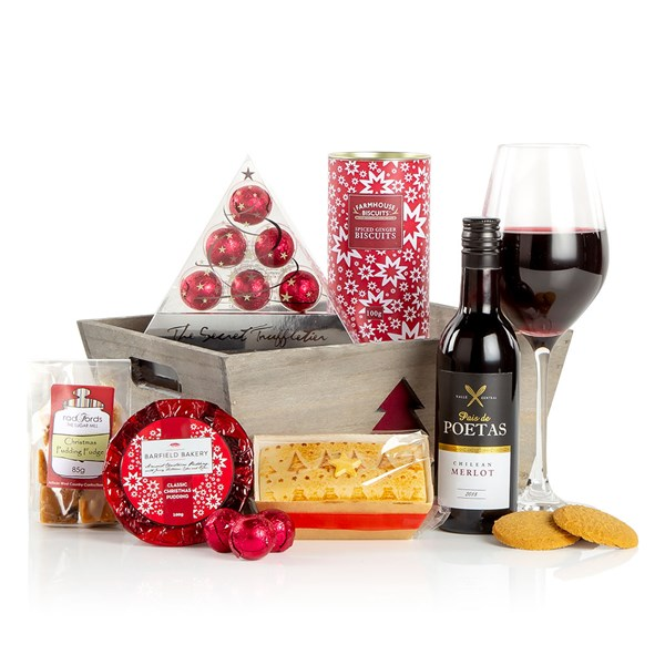 Festive Treats Luxury Christmas Food Basket