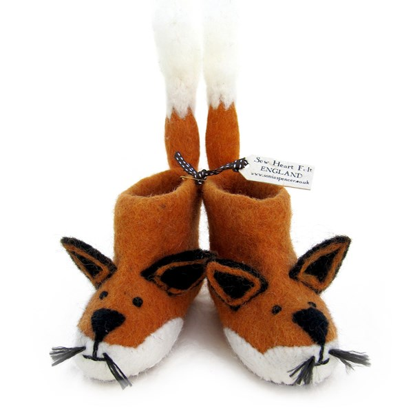 Kids Fox Themed Slippers
