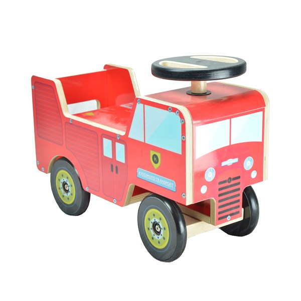 Wooden Fire Engine Toddler Toy