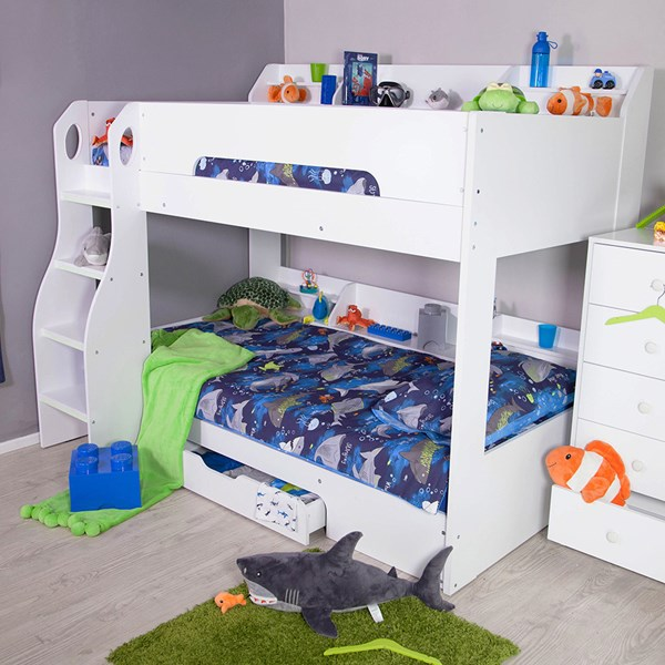Bunk Bed with Under Bed Storage Drawer
