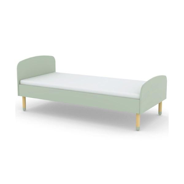 Flexa Kids Single Bed in Mint Green